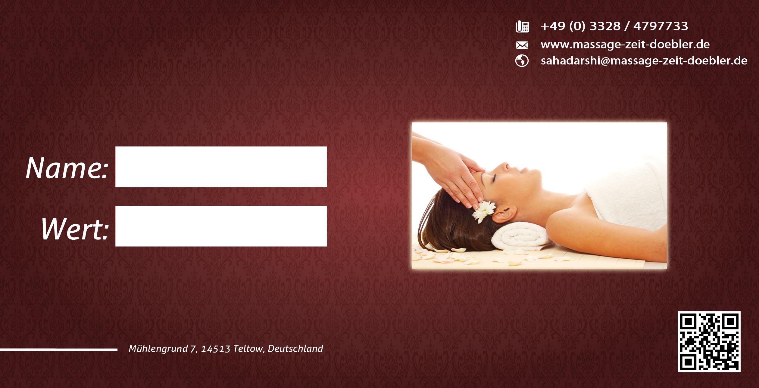 Massage Zeit Döbler